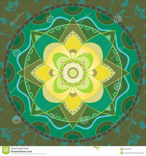 imagenes de mandalas verdes mandala verde foto de archivo imagen 18270130