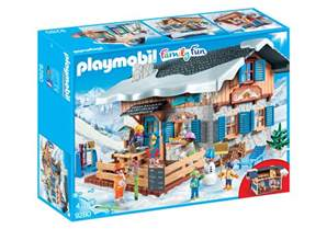 ski lodge 9280 playmobil