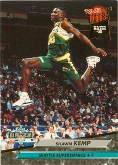 Basketball Cards Ultra 1996 On The Block Shawn Kemp 129 the trading card database shawn kemp gallery