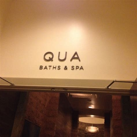 Qua Baths Spa by Entrance Yelp