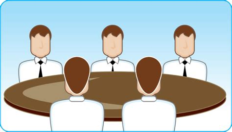 Round Table Discussion, Vector   365PSD.com