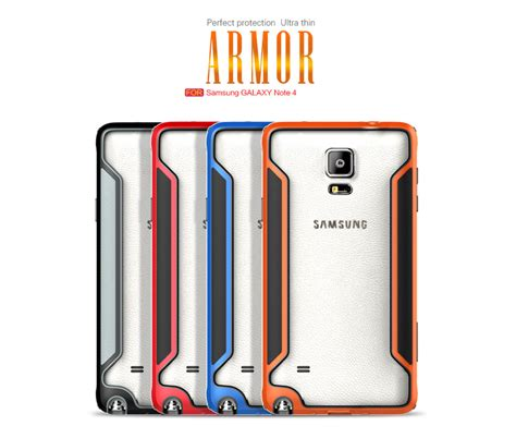 Samsung Galaxy A5 Bumper Armor Smart Flip Slim View Clear Mirror Cover nillkin slim armor border κόκκινο galaxy note 4 itrend gr