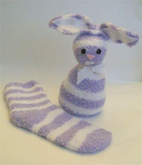 no sew sock bunny so craft ee doodles