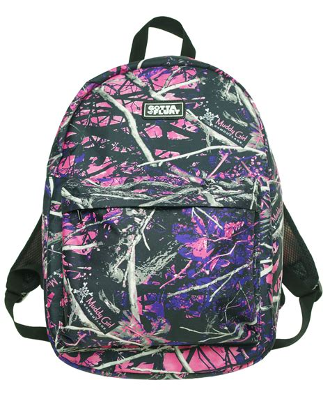 muddy purple camo muddy pink purple camo exclusive backpack ebay