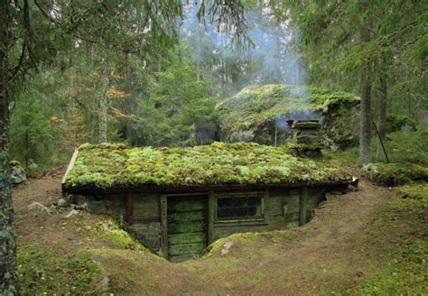 the fae feminism an earth sheltered home with a moss