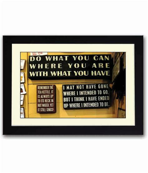 Wood Frame Poster Quotes Edition 05 artifa inspirational quotes wooden framed poster buy artifa inspirational quotes wooden framed