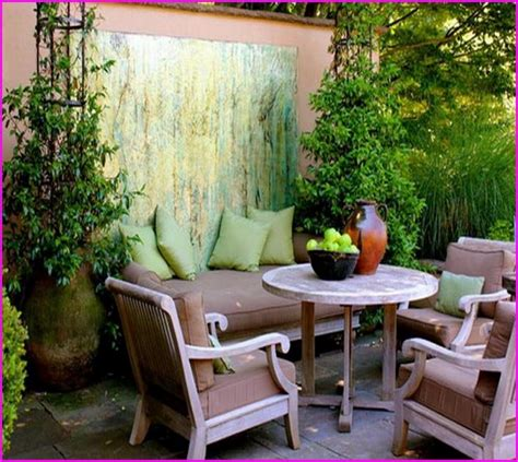 Patio Design Ideas For Small Backyards Fancy Concrete Patio Ideas For Small Backyards 13 With Additional Bamboo Patio Cover With