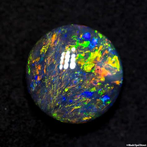 3 1 Ct Black Opal Hq 1 92 ct black opal 9x9x4mm black opal direct