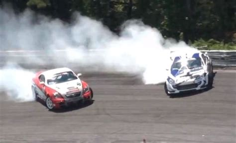 lexus sc430 drift family feud lexus sc430 vs fr s drift battle clublexus