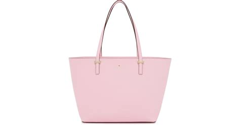 Kate Spade Harmony Pink Blush kate spade new york small harmony tote in pink lyst