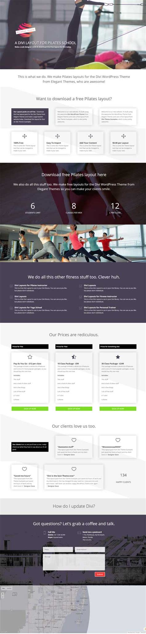 download layout divi 17 free divi layouts to download now divi theme layouts