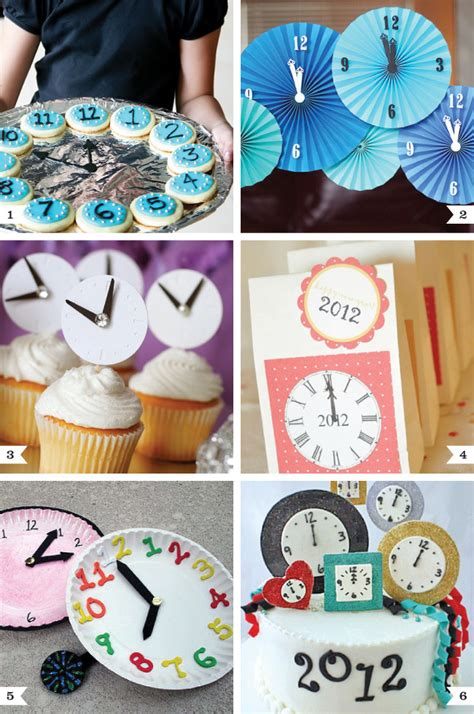 themes year clock new year s eve clock ideas chickabug