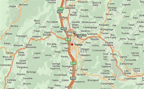 Trento Italy Map by Trento Location Guide
