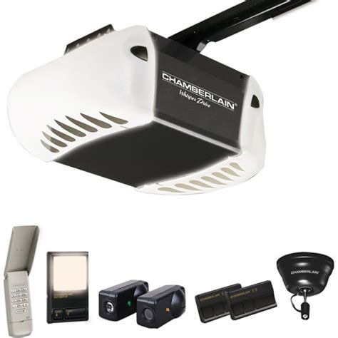 Chamberlain Garage Door Opener Remote Toronto Chamberlain Whisper Drive 1 2 Hp Belt Drive Garage Door