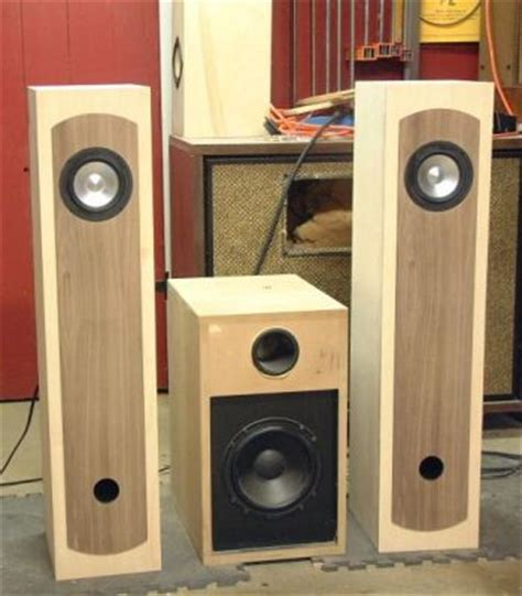 diy speaker projects diy jx92 tower loudspeakers diy audio projects