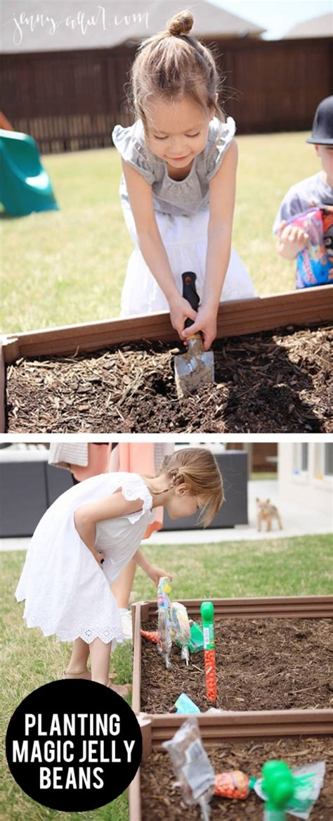Commercial Girl Planting Jelly Beans | planting magic jelly beans 187 jenny collier blog