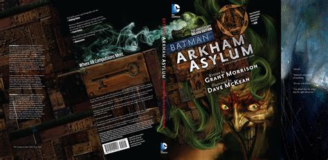 batman arkham asylum 25th 1401251250 jun140277 batman arkham asylum 25th anniv dlx ed hc previews world