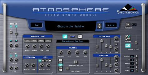 Trilian Spectrasonic Bass Instrument Vsti Vst Plugin Update kvr atmosphere by spectrasonics synth module vst