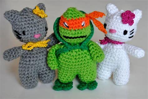 Turtle Phone Standing Doll amigurumi ninjago slugom for