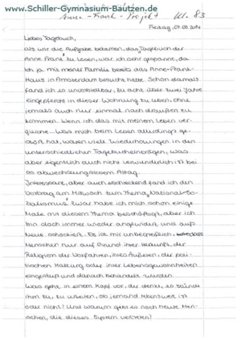 Tagebucheintrag Schreiben Muster O