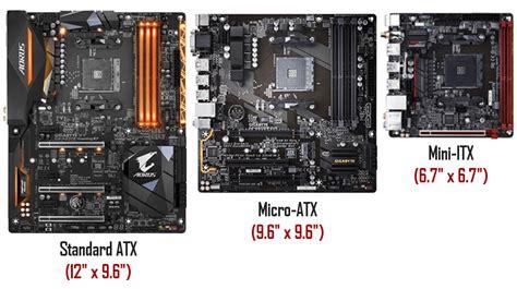 best micro itx motherboard micro atx vs mini itx vs atx which form factor is right