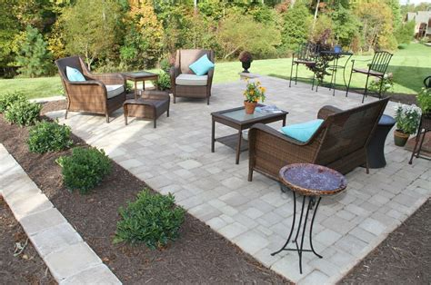 outdoor pavers for patios hardscape patio ideas from sauders hardscape supply