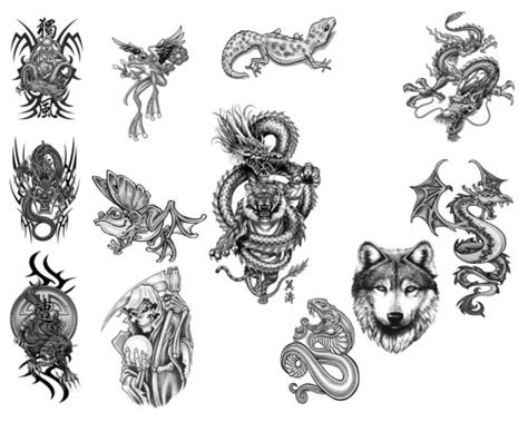 photoshop tattoo brushes cool collection of high quality tattoo