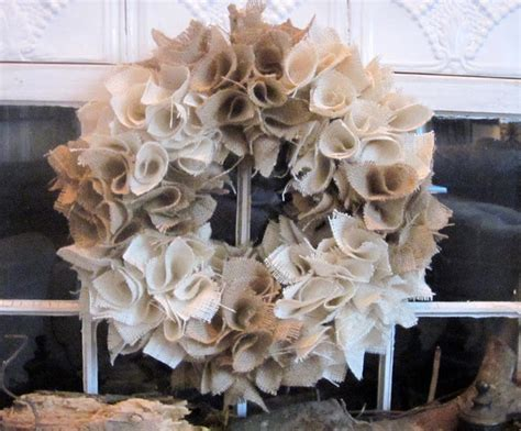 how to make a wreath with burlap down to earth style cute burlap wreaths
