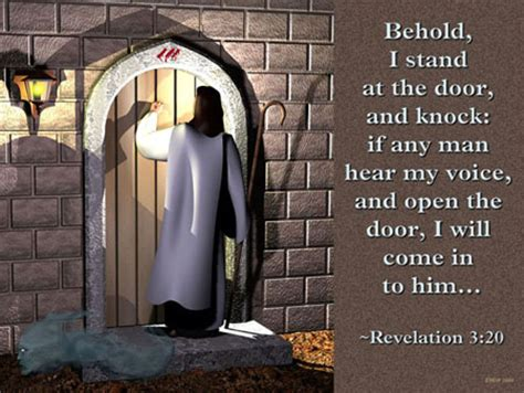 Knock And The Door Shall Be Opened Kjv by The Sower And The Seed And The Manna Of The Kingdom