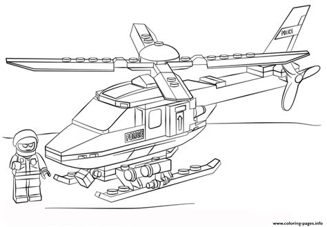 lego city coloring pages print lego police helicopter city coloring pages printable