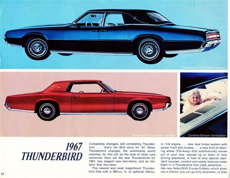 car owners manuals free downloads 2005 ford thunderbird regenerative braking service manual free download of 1967 ford thunderbird owners manual service manual free