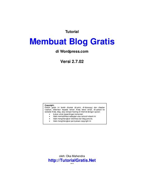 proposal payroll system komputer tutorial membuat blog gratis di wordpress com baru