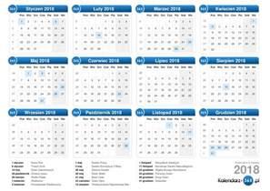 Kalendar Rok 2018 Kalendarz 2018