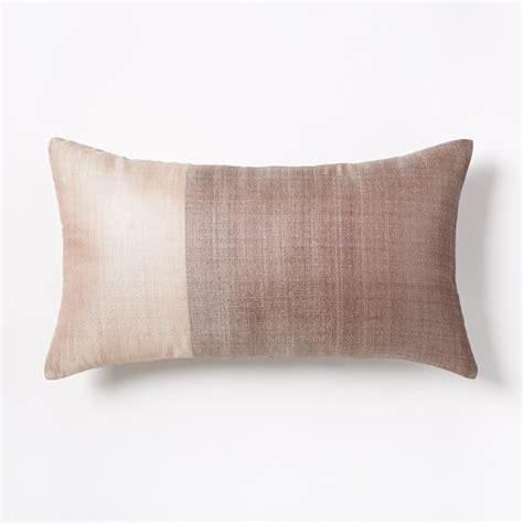 sari silk pillow cover rosette west elm