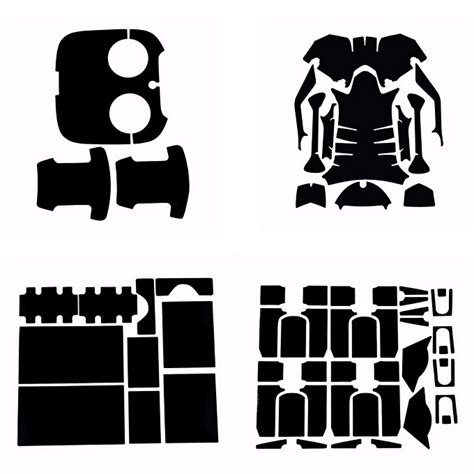carbon fiber skin decal stickerset for dji inspire 1