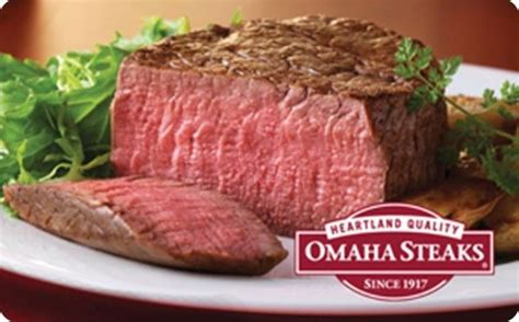 Where To Buy Omaha Steaks Gift Cards - omaha steaks gift card 25 50 100 email delivery ebay