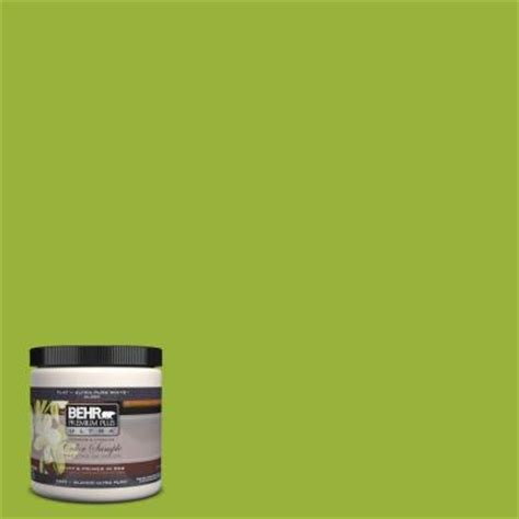 behr premium plus ultra 8 oz 410b 7 bamboo leaf interior exterior paint sle 410b 7u the
