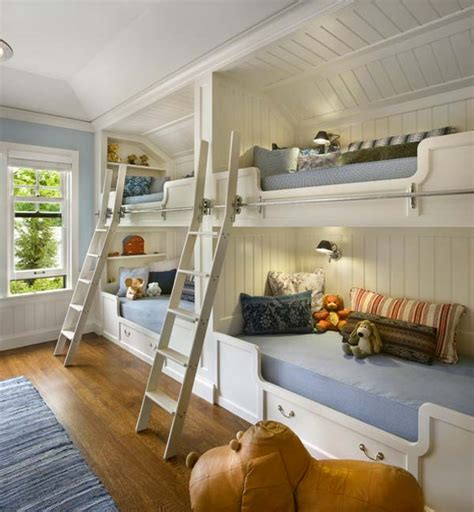 21 Most Amazing Design Ideas For Four Kids Room Amazing Bedroom Designs For Children