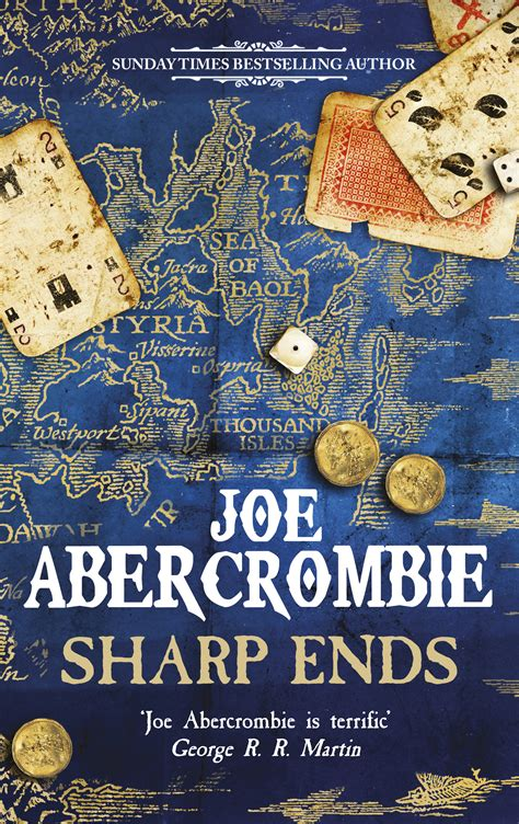 libro sharp ends stories from sharp ends uk cover joe abercrombie