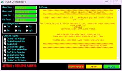 cara membuat virus melalui email the game online cara membuat virus dengan vb smm