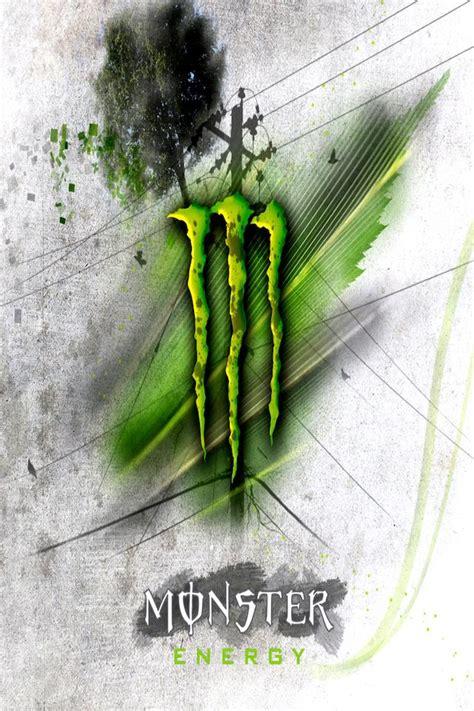 Monster Energy Sticker Wallpapers by Fond D 233 Cran Iphone 4 Monster Energy 04 640x960 Gratuit