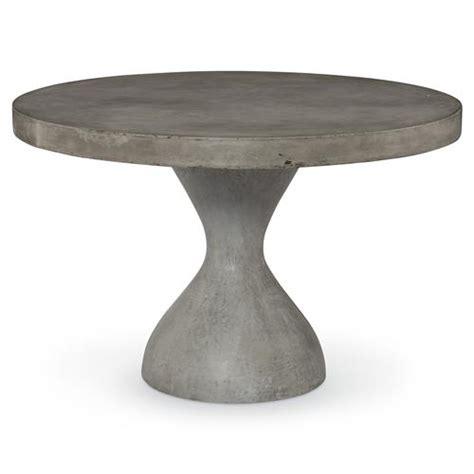slate outdoor dining table rotunda industrial slate concrete outdoor dining table