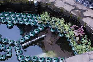 7pcs aquaponics floating pond planter pots set