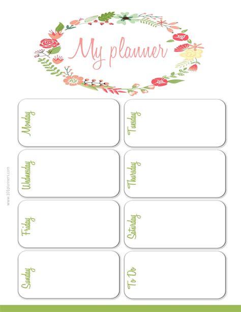 Weekly Planner Template by Weekly Planner