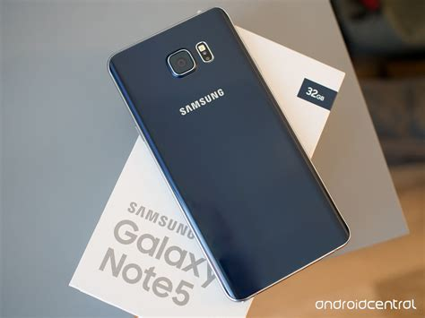 Samsung Galaxy Note5 samsung galaxy note 5 review android central