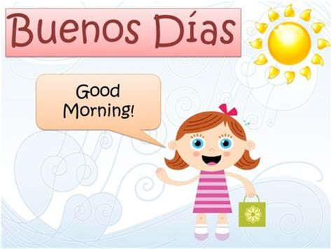 imagenes para good morning ingl 233 s