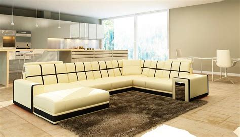Beige Leather Sectional Sofa Vg078 Leather Sectionals Beige Leather Sectional Sofa