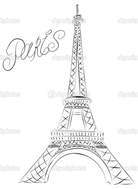 17 best ideas about eiffel tower drawing on pinterest