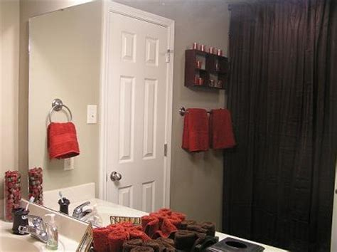 red and brown bathroom ideas 1000 ideas about brown shower curtains on pinterest