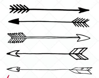 arrow with feather clipart collection